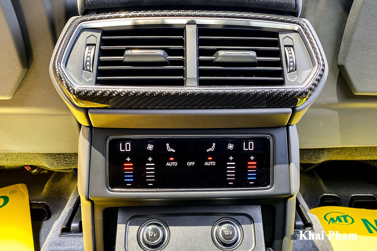 Ảnh cửa gió điều hoà xe Lamborghini Urus full carbon 1