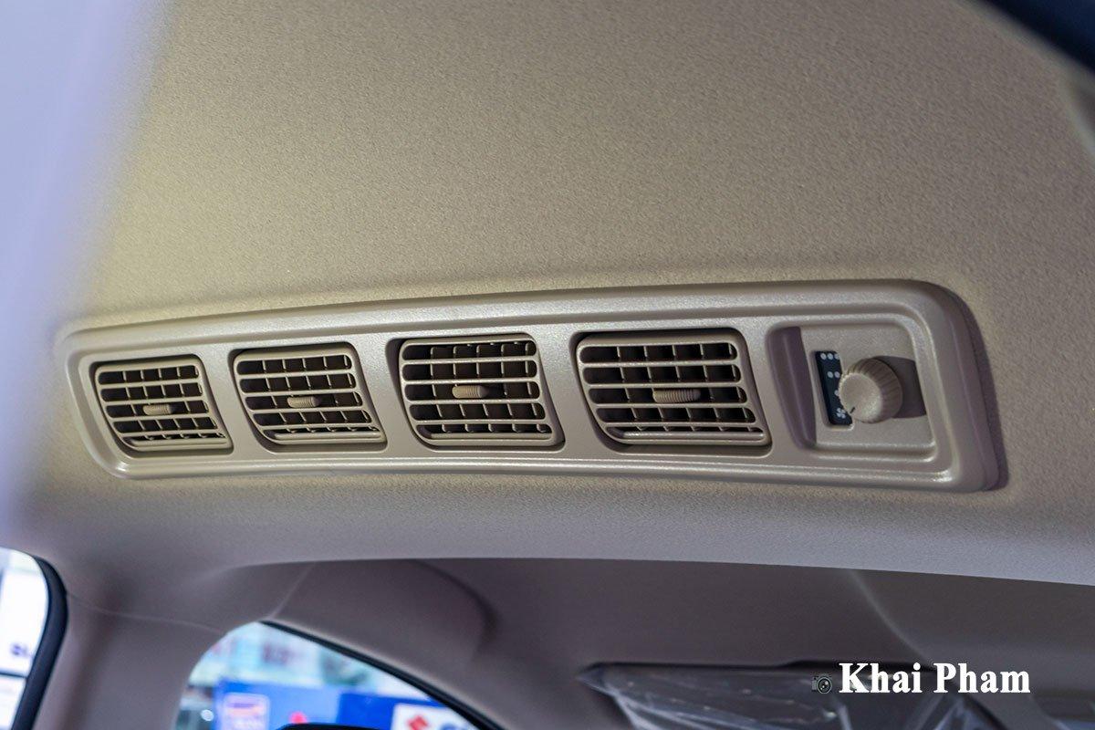 Ảnh điều hoà xe Suzuki XL7 2020