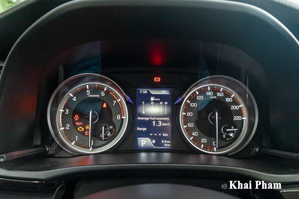 Ảnh đồng hồ xe Suzuki XL7 2020