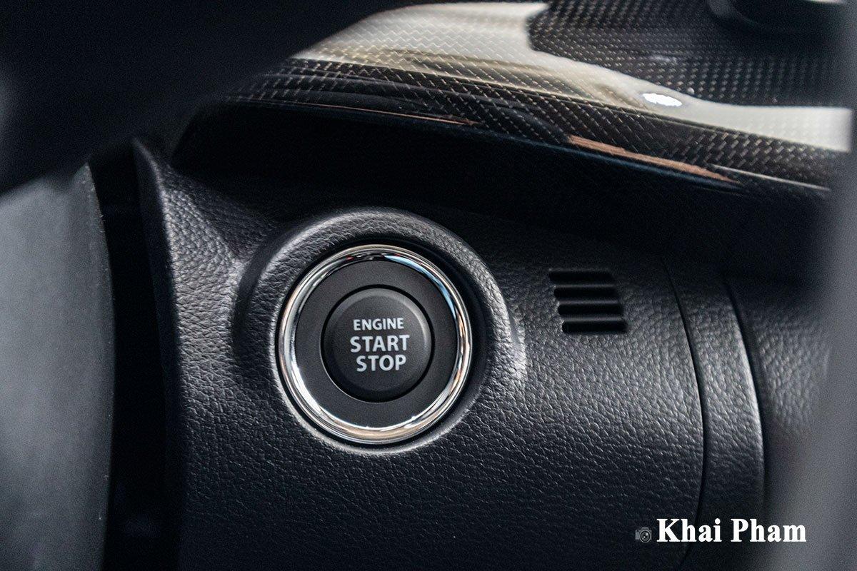 Ảnh nút khởi động xe Suzuki XL7 2020