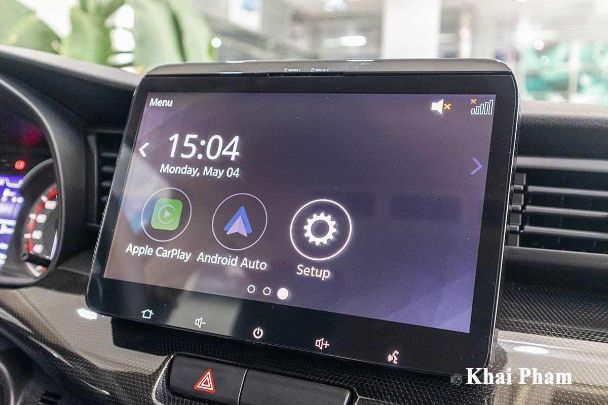 Ảnh màn hình xe Suzuki XL7 2020