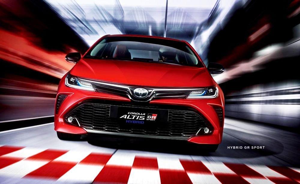 Toyota Corolla Altis GR Sport bổ sung lựa chọn cho người dùng.