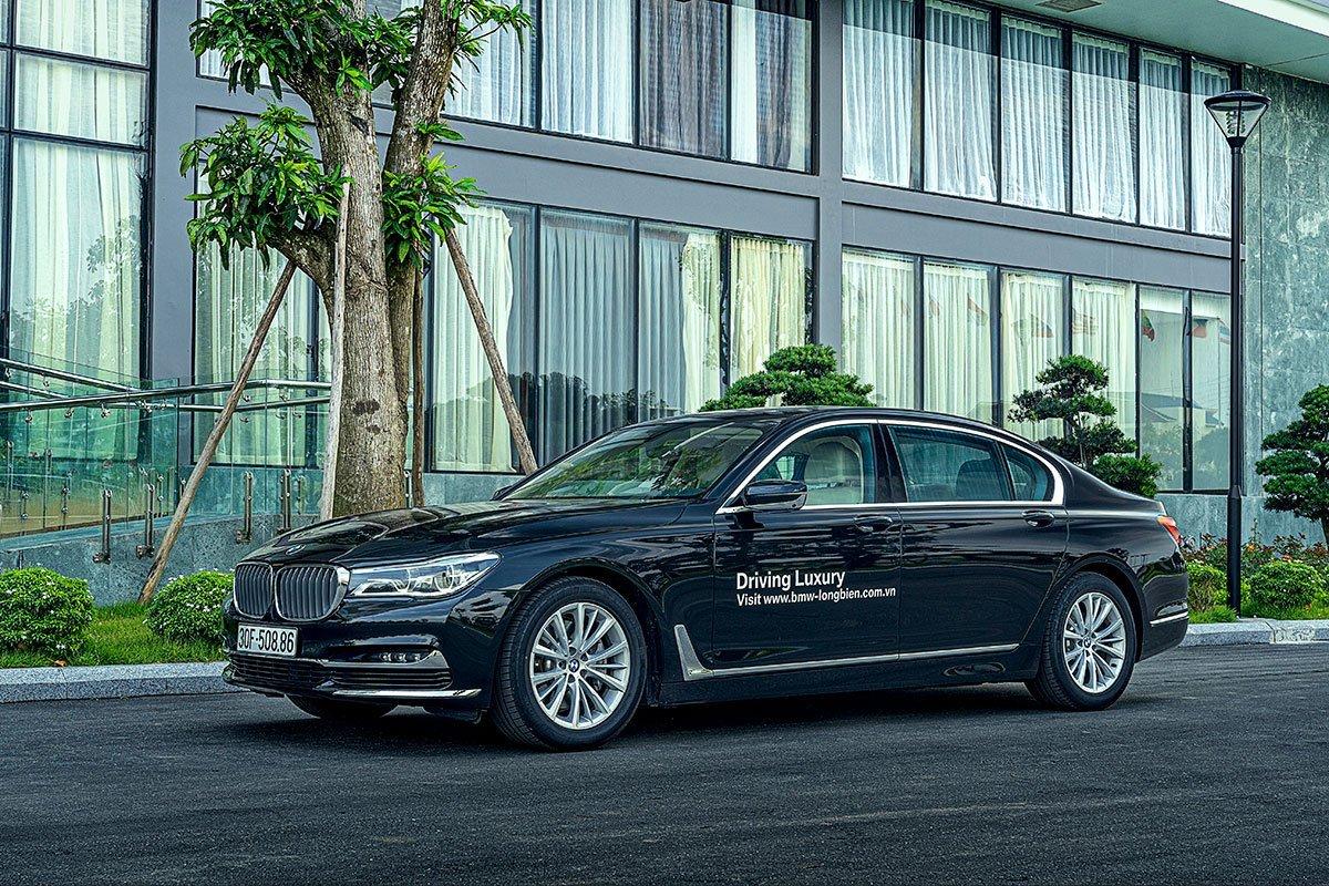 BMW 7-Series 2019 là mẫu xe rất được các doanh nhân thành đạt, giới thượng lưu ưa chuộng 1