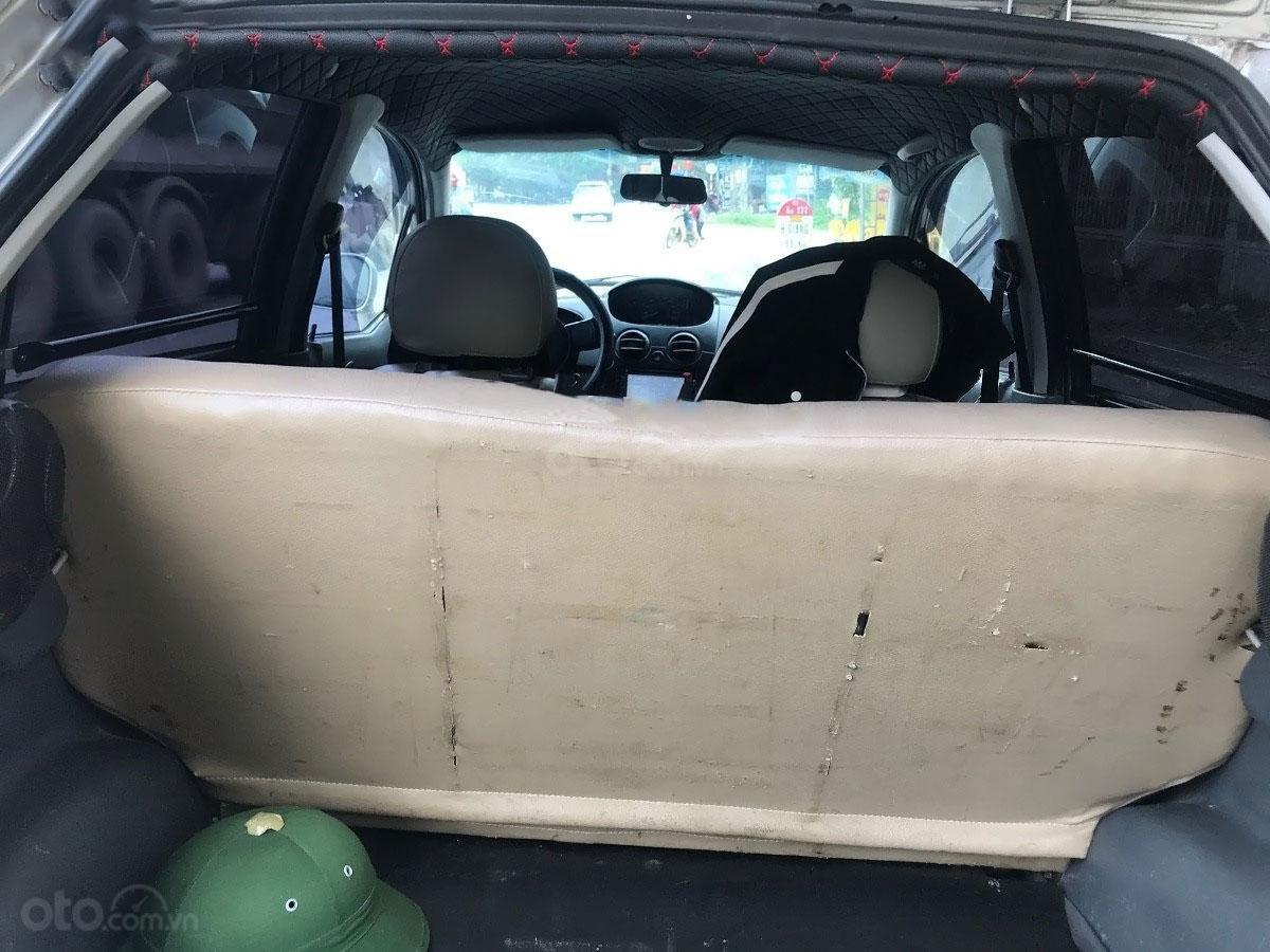 Cần bán Chevrolet Spark Van 0.8 MT đời 2009, màu bạc (4)