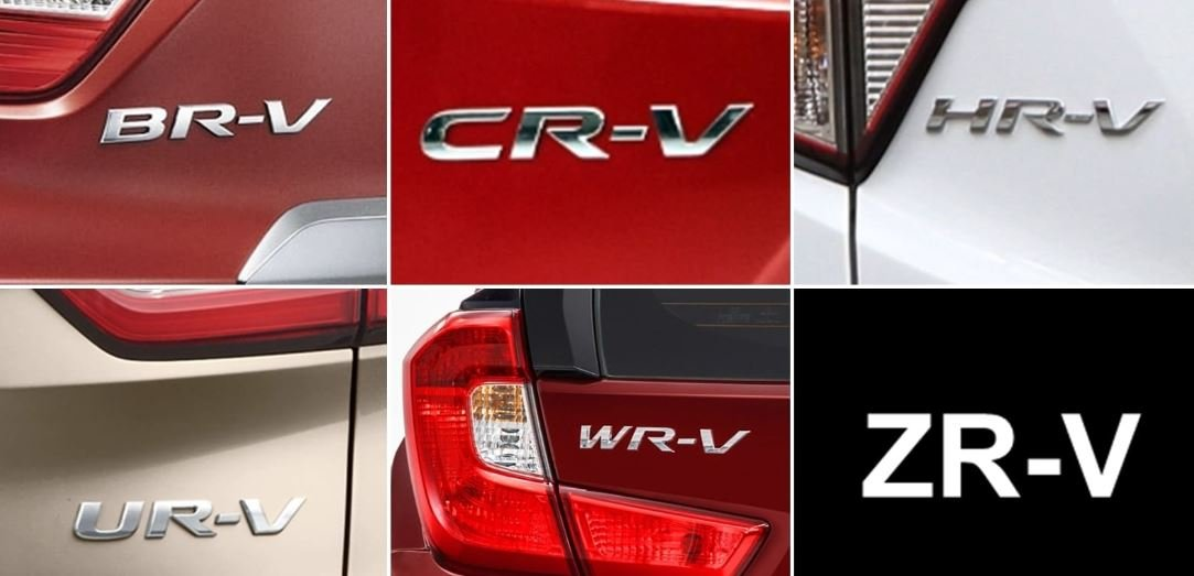Honda ZR-V mở rộng danh sách mã hiệu R-V của hãng xe Nhật.