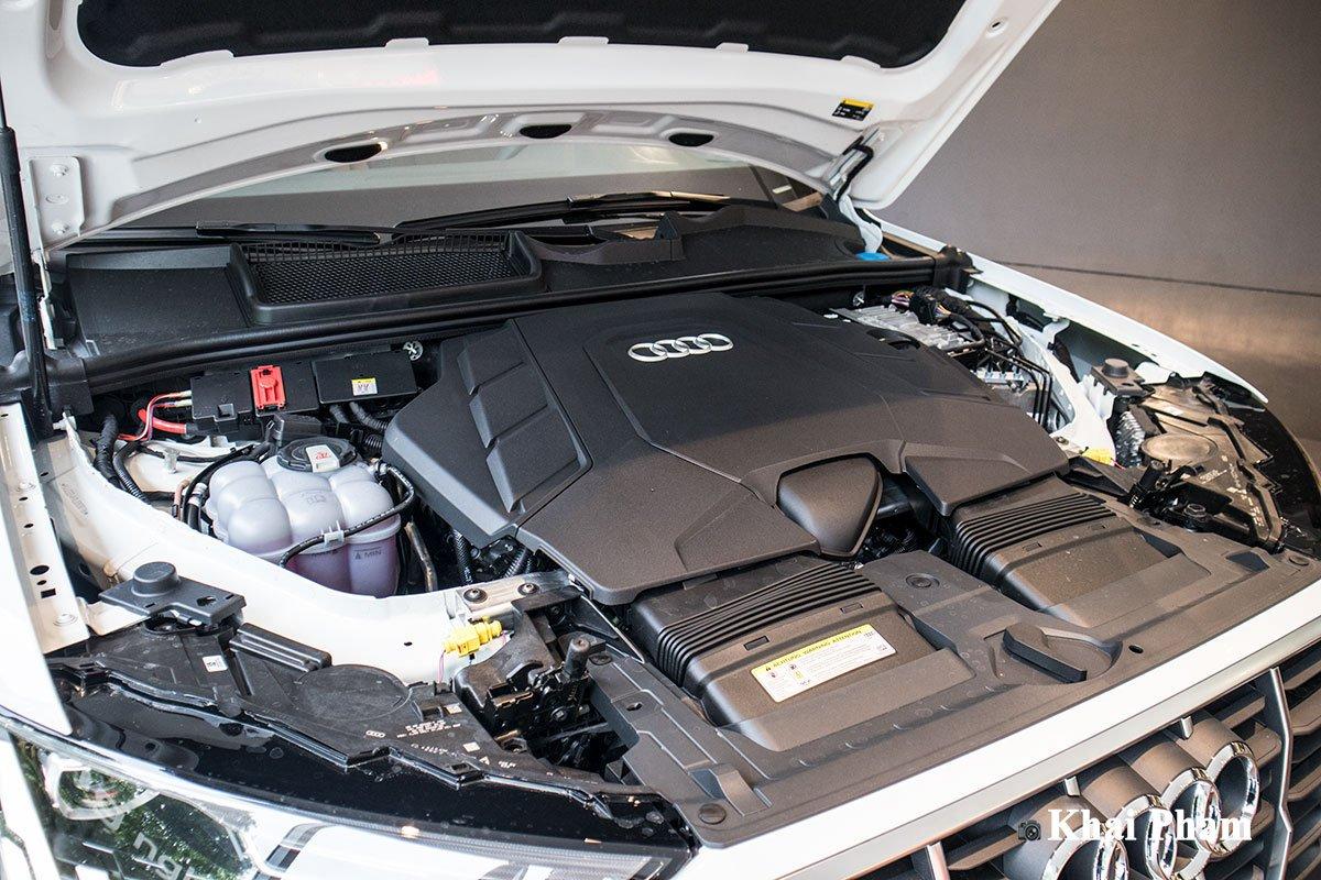 Audi Q7 2020 sử dụng động cơ V6 phun nhiên liệu trực tiếp 1