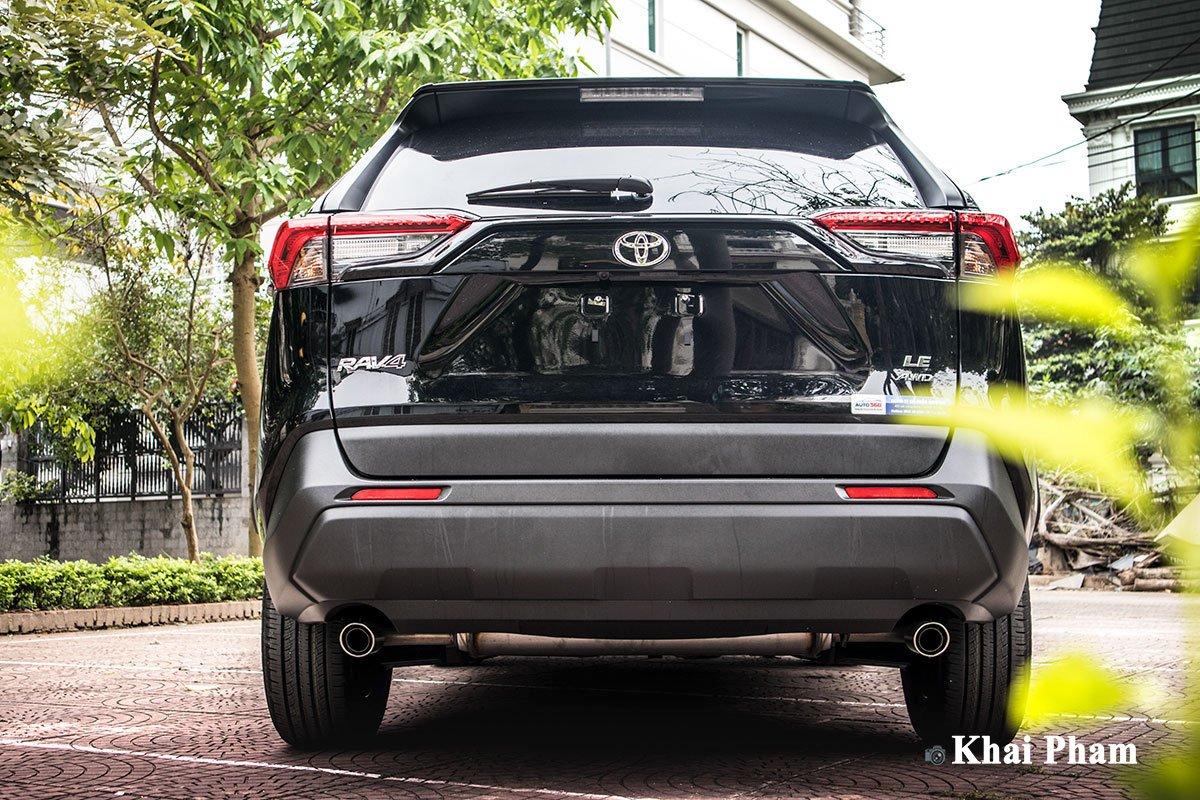 Ảnh đuôi xe Toyota RAV4 2020