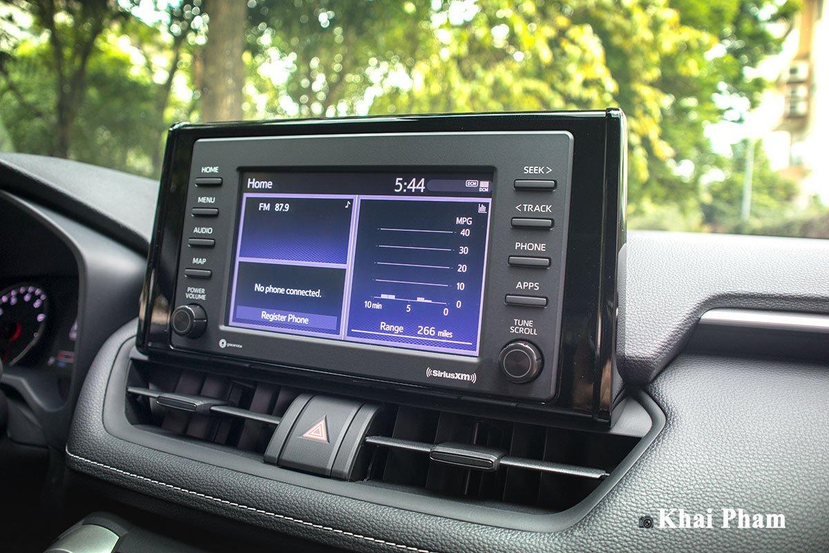 Ảnh Màn hình  xe Toyota RAV4 2020