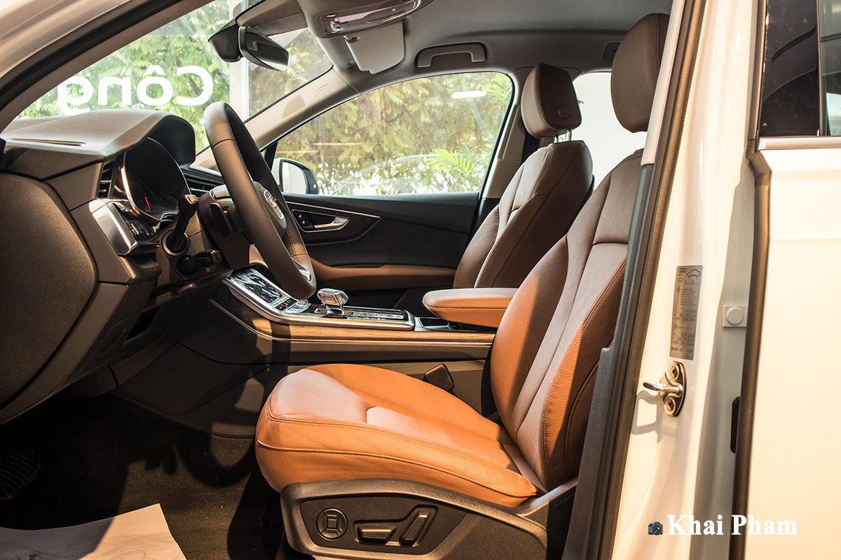 Ảnh ghế trước xe Audi Q7 2020