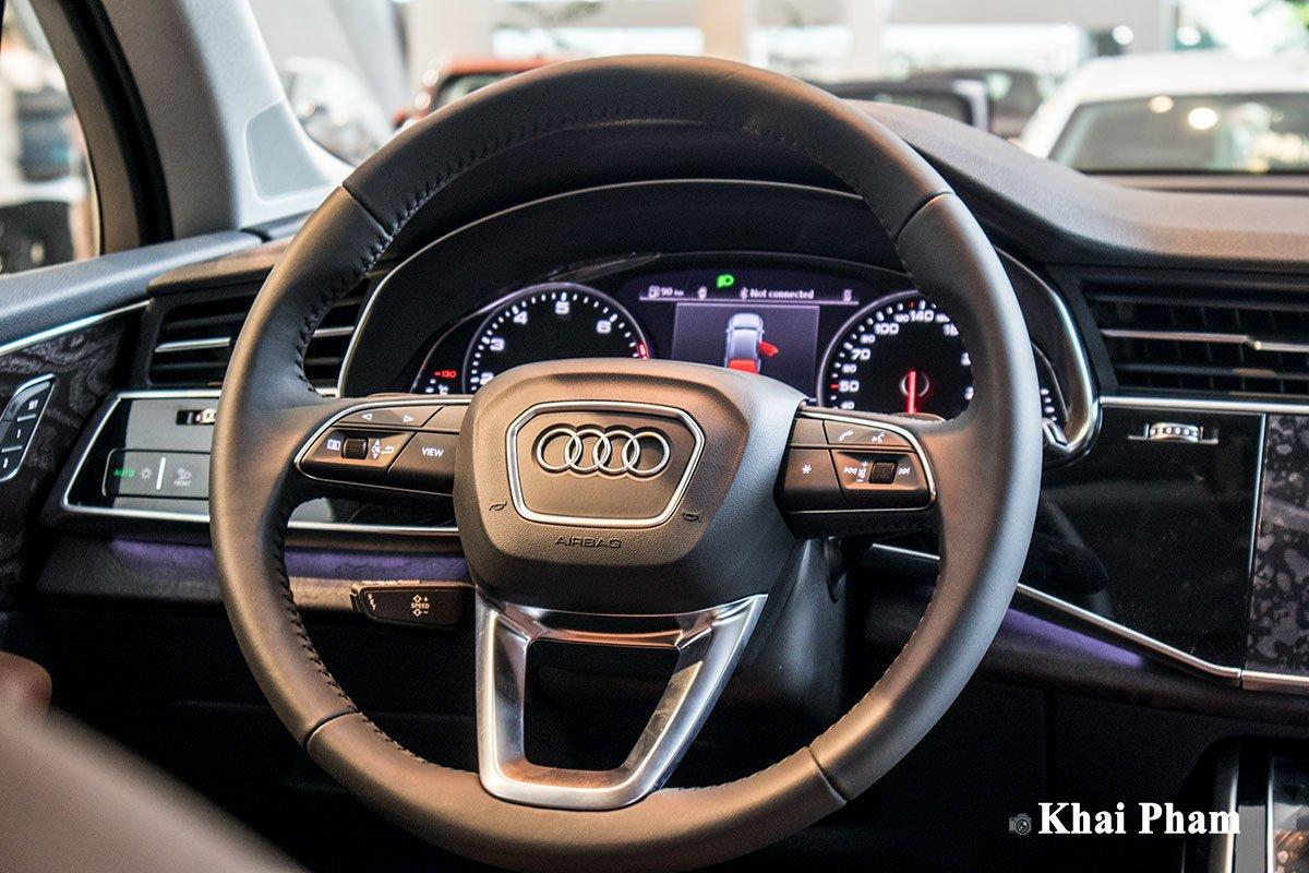 Ảnh vô-lăng xe Audi Q7 2020