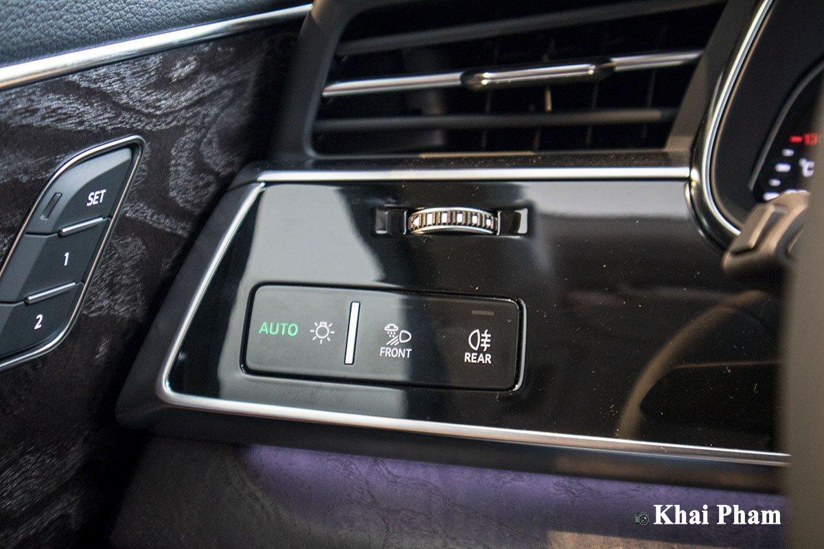 Ảnh chỉnh đèn xe Audi Q7 2020