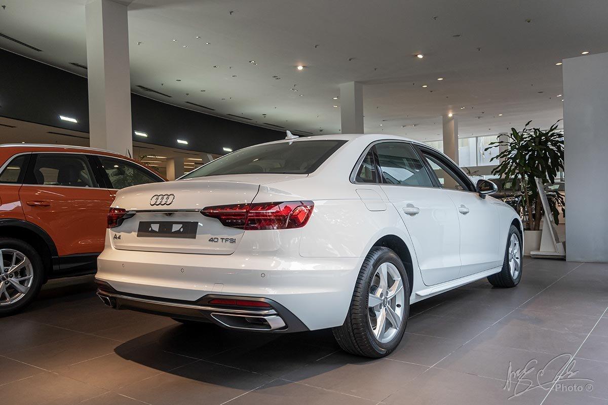 Sự thay đổi của Audi A4 2020 tập trung ở phần đầu và đuôi xe 1