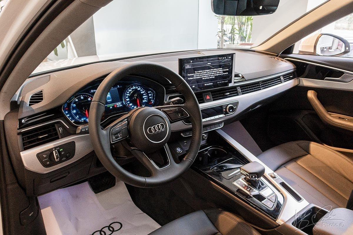 Audi A4 2020 sở hữu khoang nội thất tiện nghi, hiện đại 1