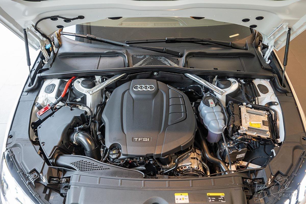 Audi A4 2020 chỉ cung cấp một lựa chọn duy nhất về động cơ cho cả hai phiên bảnAdvanced và S Line 1