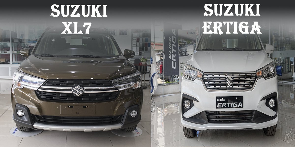Ảnh chụp xe Suzuki XL7 2020 và Suzuki Ertiga 2020