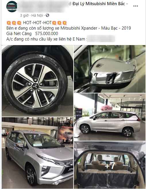 Xe HOT Mitsubishi Xpander giảm giá sốc, bản AT chỉ còn 565 triệu a1