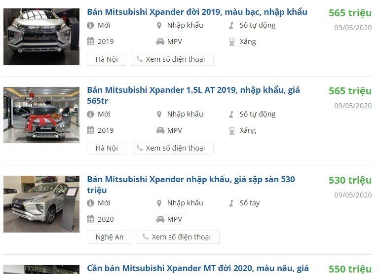 Xe HOT Mitsubishi Xpander giảm giá sốc, bản AT chỉ còn 565 triệu a2