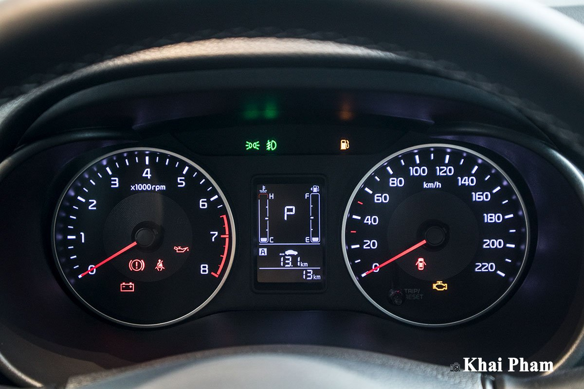 Ảnh đồng hồ xe Kia Soluto AT Luxury 2020