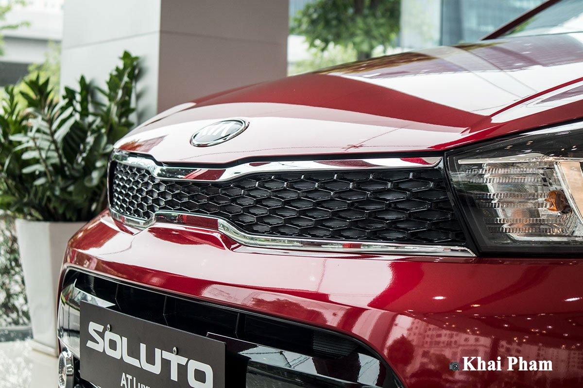Ảnh lưới tản nhiệt xe Kia Soluto AT Luxury 2020