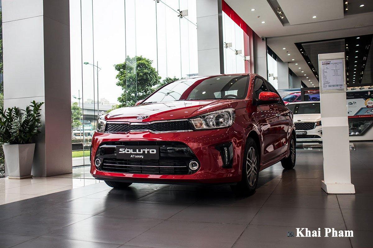 Ảnh trước xe Kia Soluto AT Luxury 2020 1