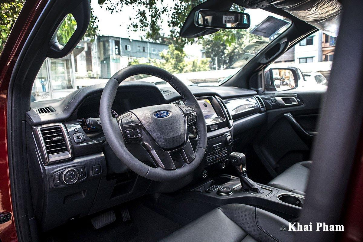 Ảnh Vô-lăng xe Ford Everest 2020