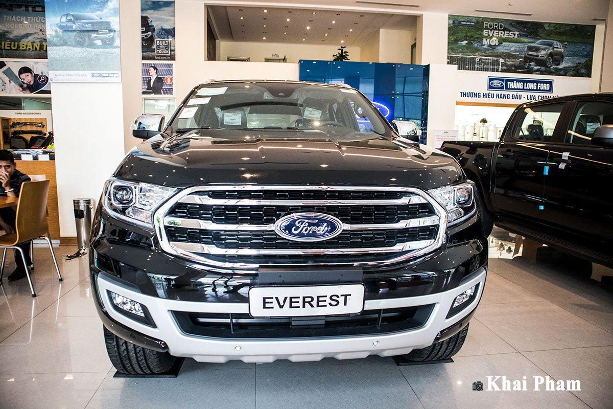 Ảnh chụp đầu xe Ford Everest 2020
