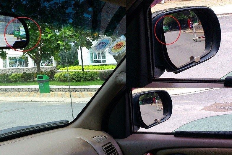 Điểm mù trên gương chiếu hậu 1