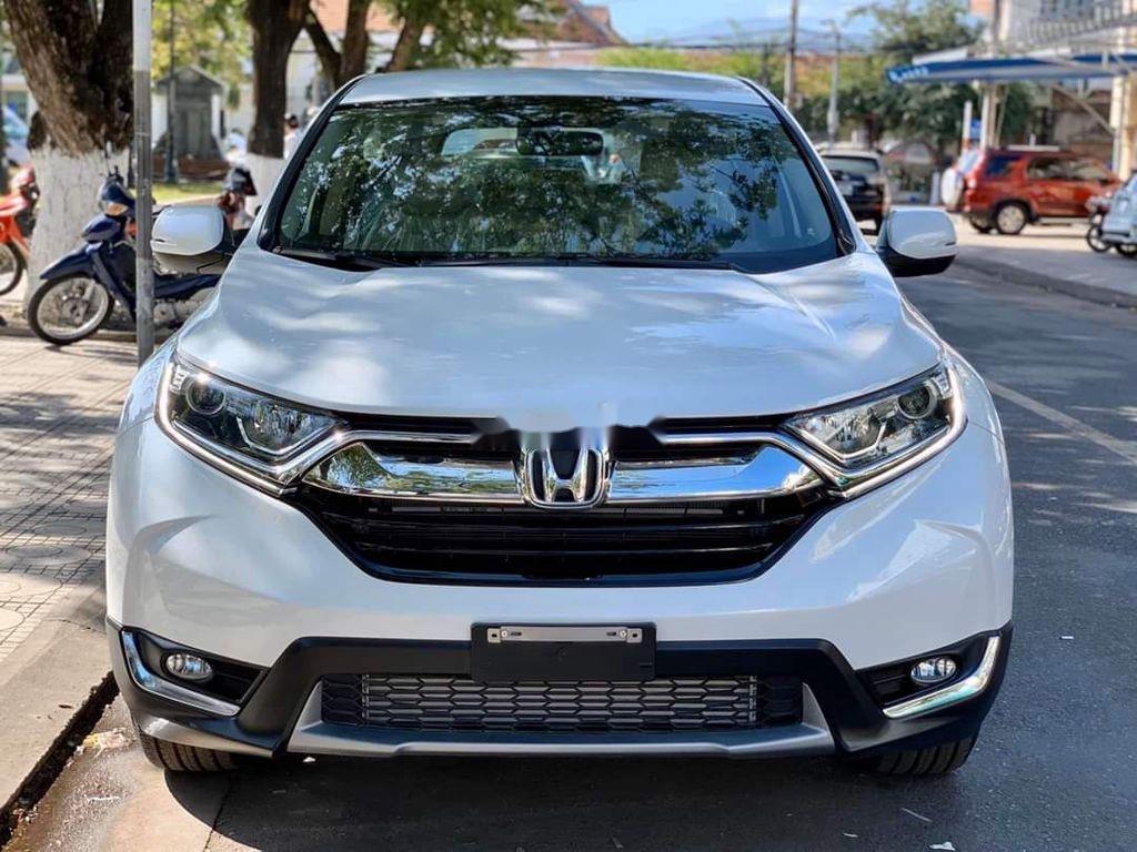 Bán Honda CR V năm 2020, màu trắng, nhập khẩu Thái Lan  (1)