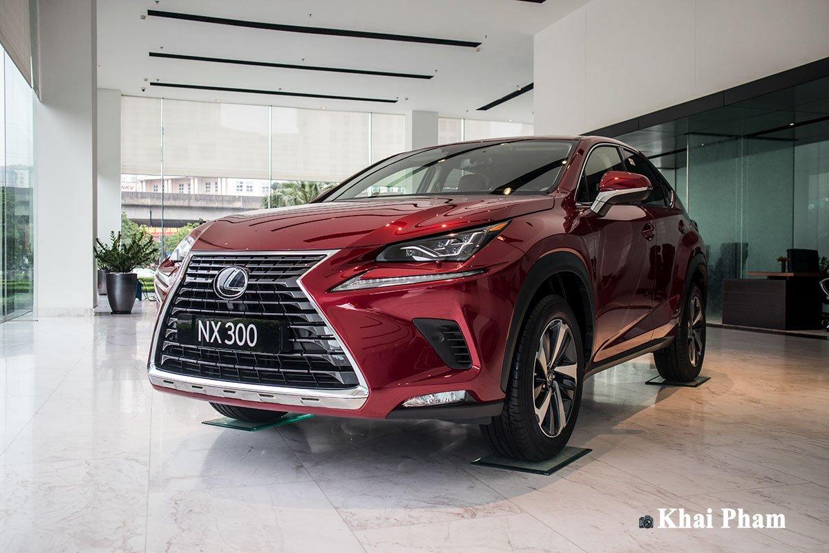 Cận cảnh xe Lexus NX 300 2020 đầu tiên về đại lý chính hãng tại Hà Nội a1