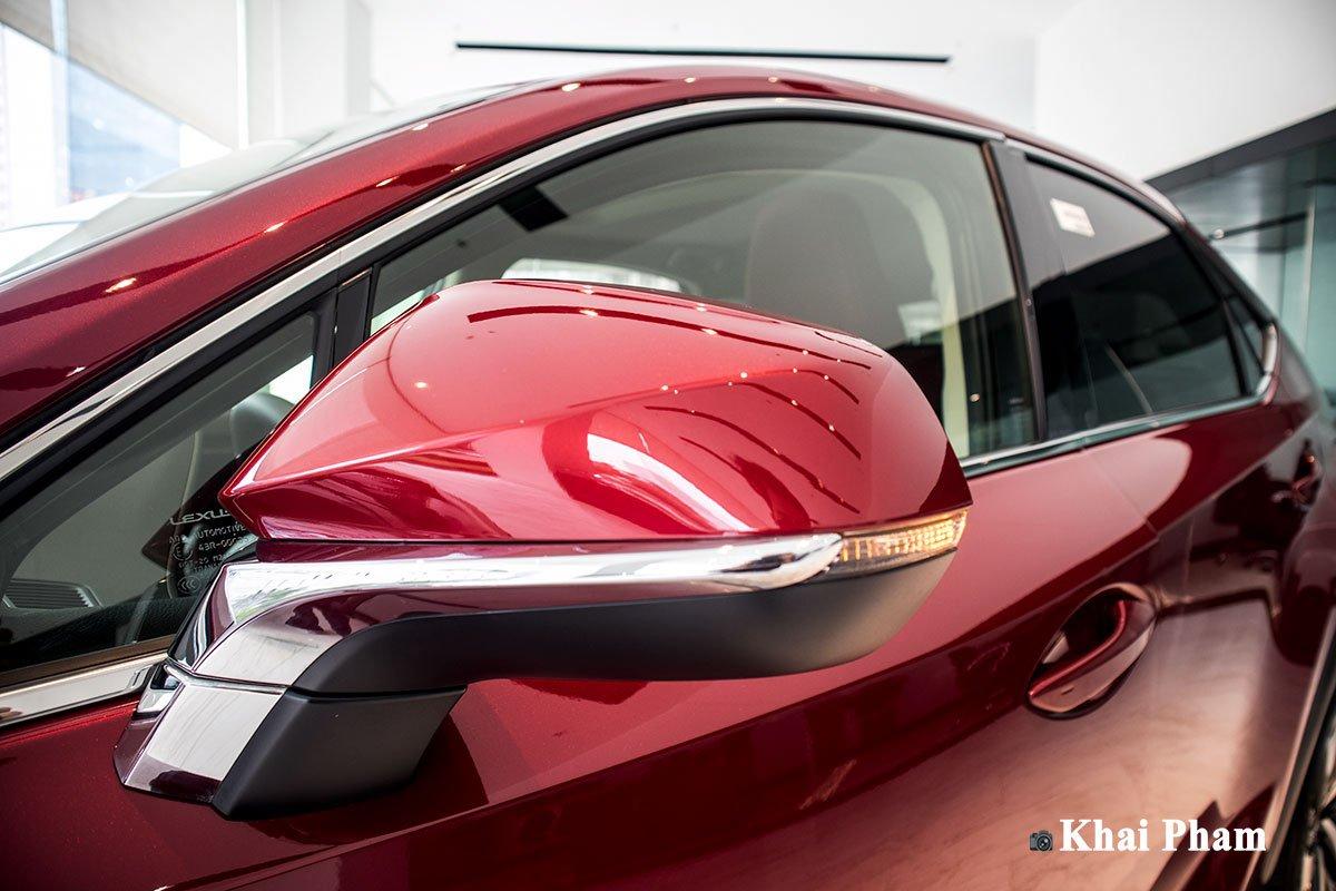 Ảnh gương chiếu hậu xe Lexus NX 300 2020