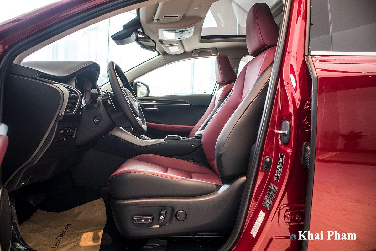 Ảnh ghế trước xe Lexus NX 300 2020