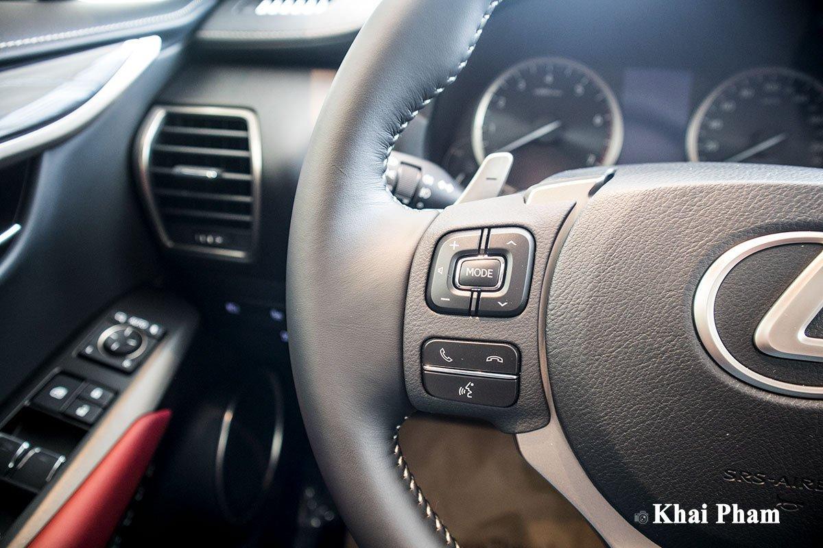 Ảnh nút bấm xe Lexus NX 300 2020