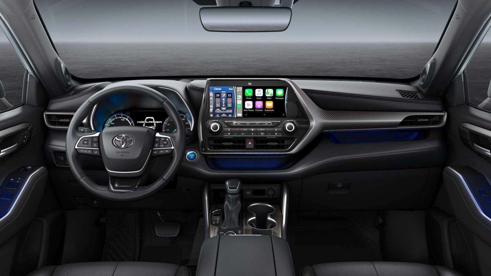 Toyota Highlander 2021 tiết kiệm nhiên liệu và thân thiện môi trường.