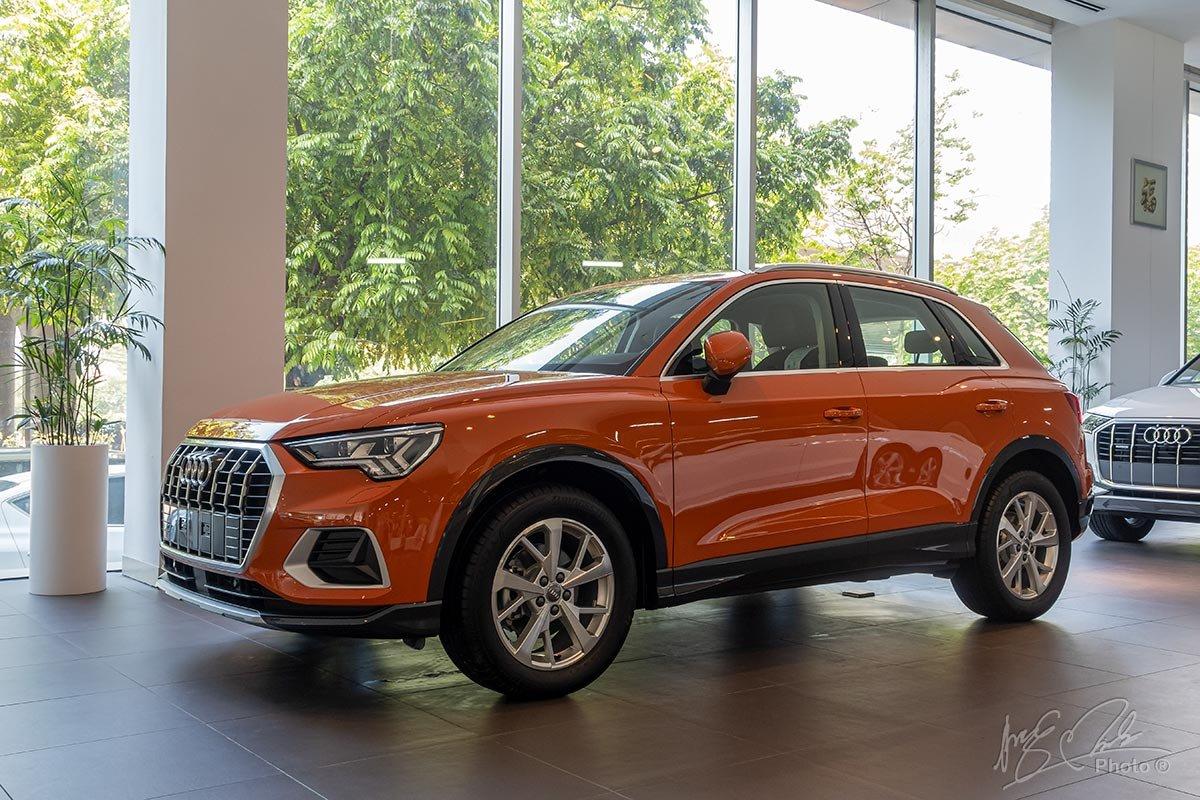 Đánh giá xe Audi Q3 2020: Kích thước tổng thể đều đã được tăng thêm.