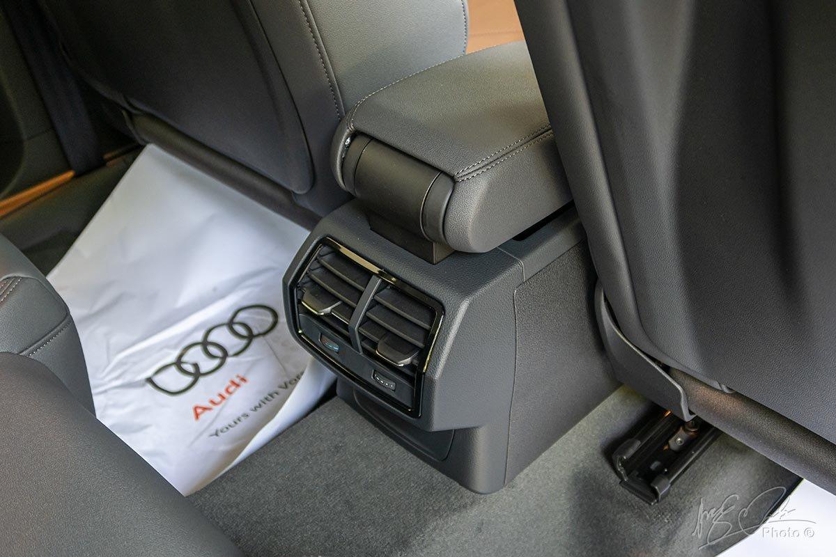 Đánh giá xe Audi Q3 2020: Điều hoà tự động cho hàng ghế sau.