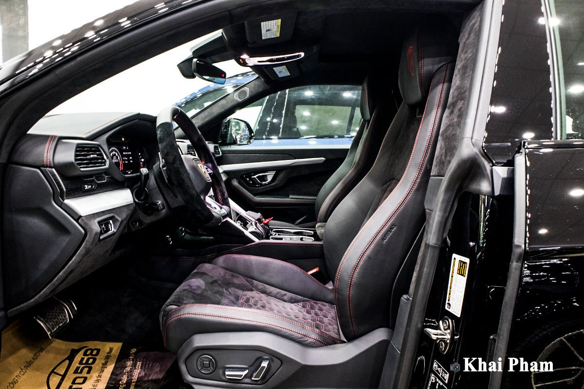 Ảnh Ghế lái xe Lamborghini Urus 2020