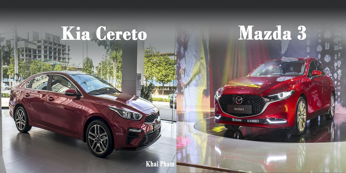 So sanh xe Mazda 3 2020 va Kia Cerato 2020 Ngoi vuong dan doi chu