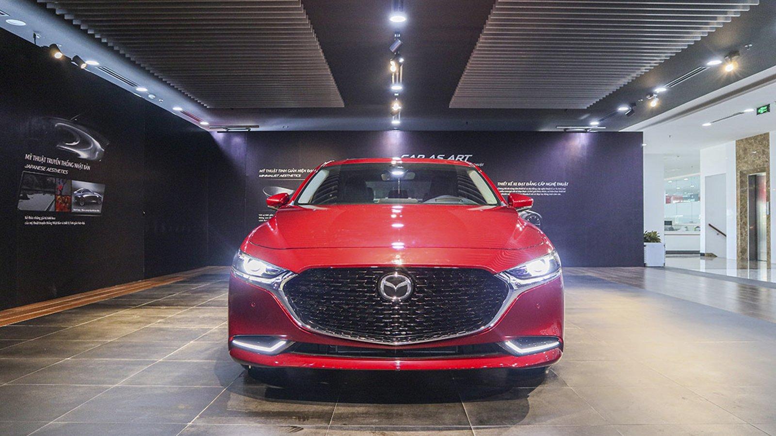 Ảnh đầu xe Mazda 2020