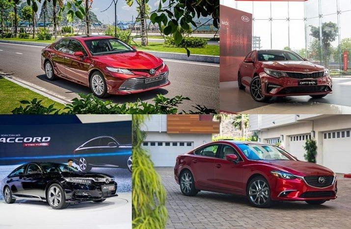 Phân khúc Sedan hạng D tháng 4/2020: Toyota Camry dẫn đầu! 1