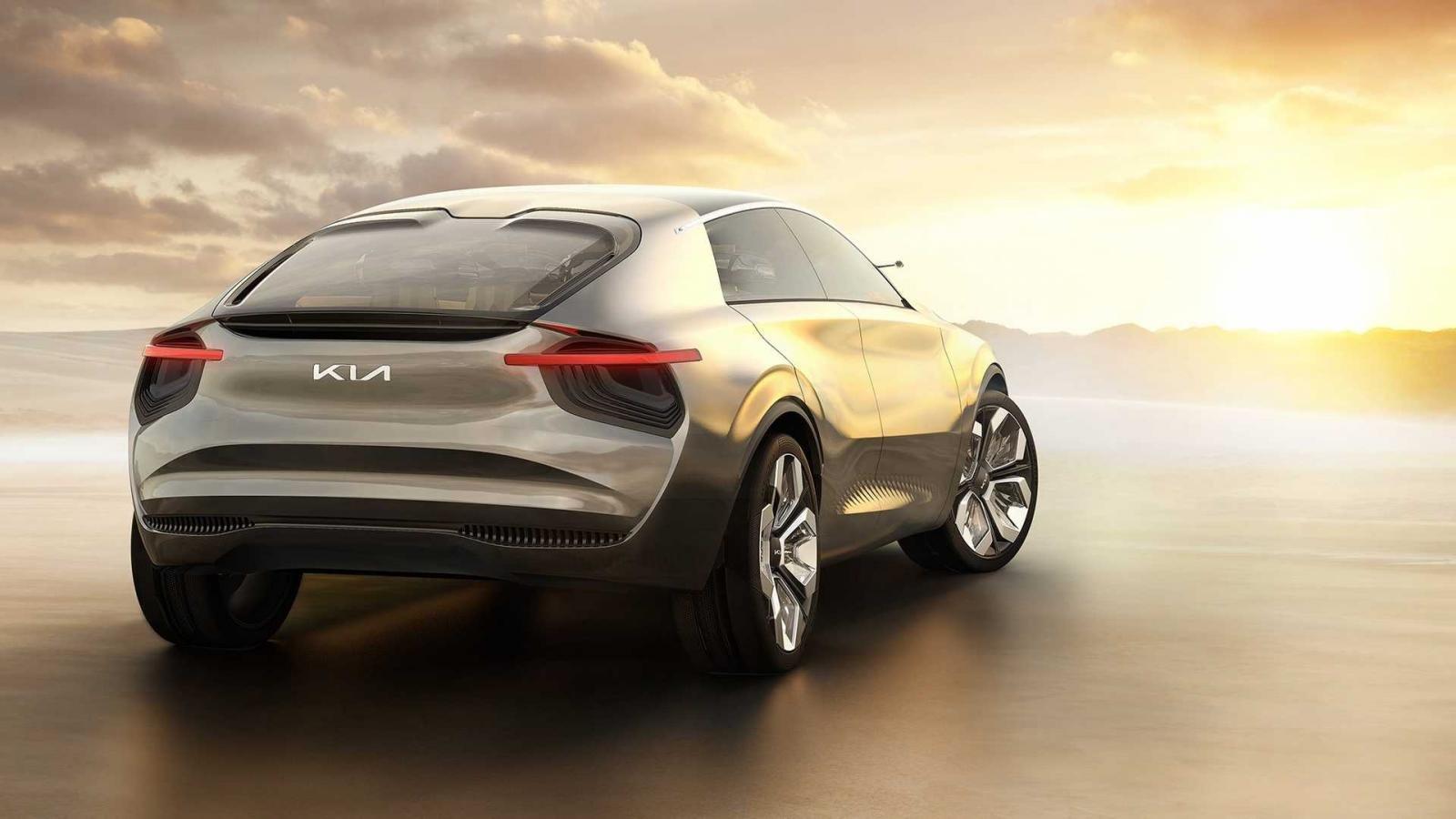 Crossover Kia đầu bảng mới thực chất là mẫu Imagine Concept từng xuất hiện.