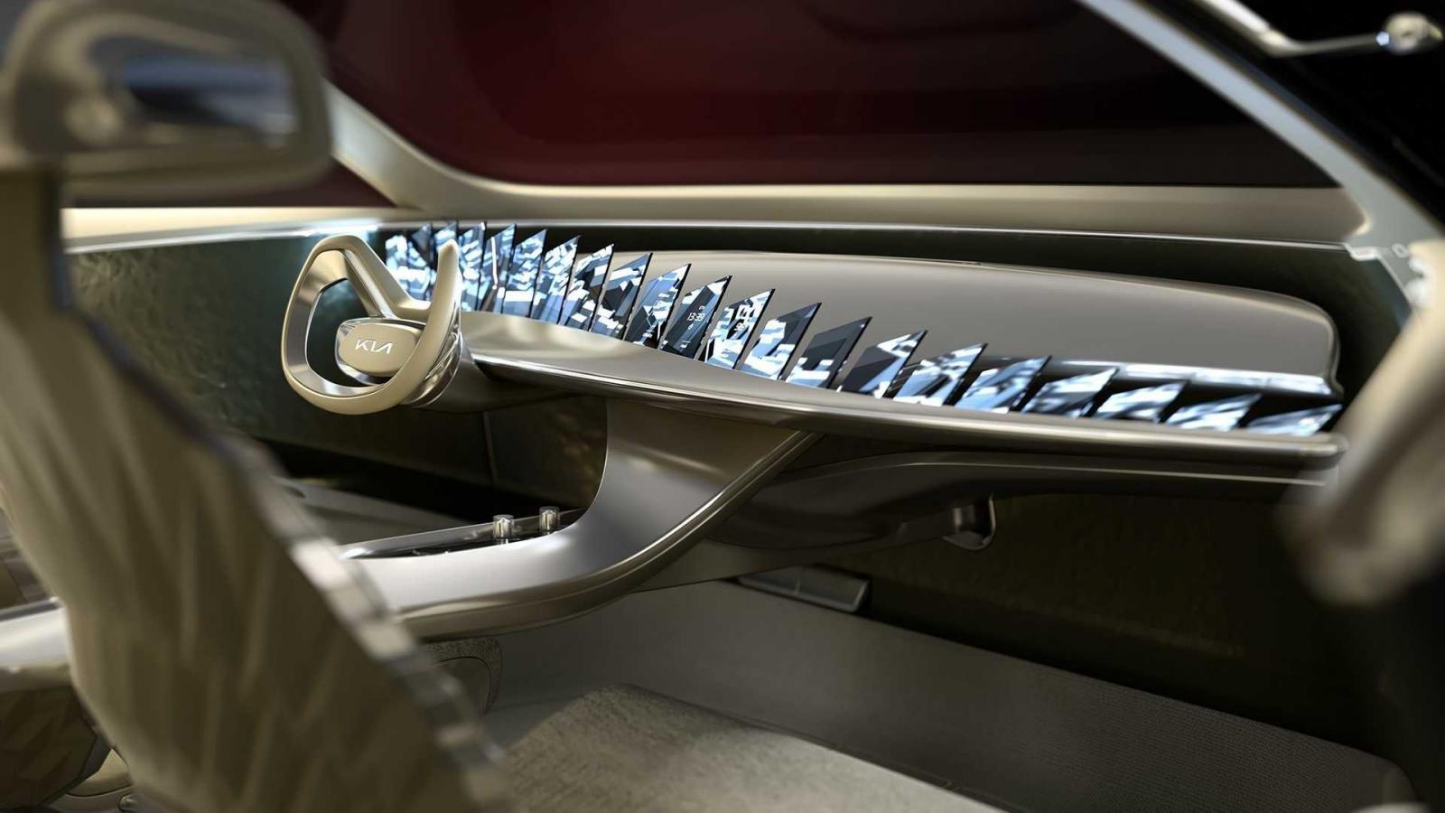 Crossover Kia CV bản sản xuất sẽ tinh giảm nhiều chi tiết.