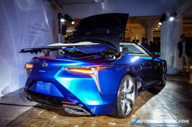 Lexus LC 500 2020 mui trần mạnh mẽ.