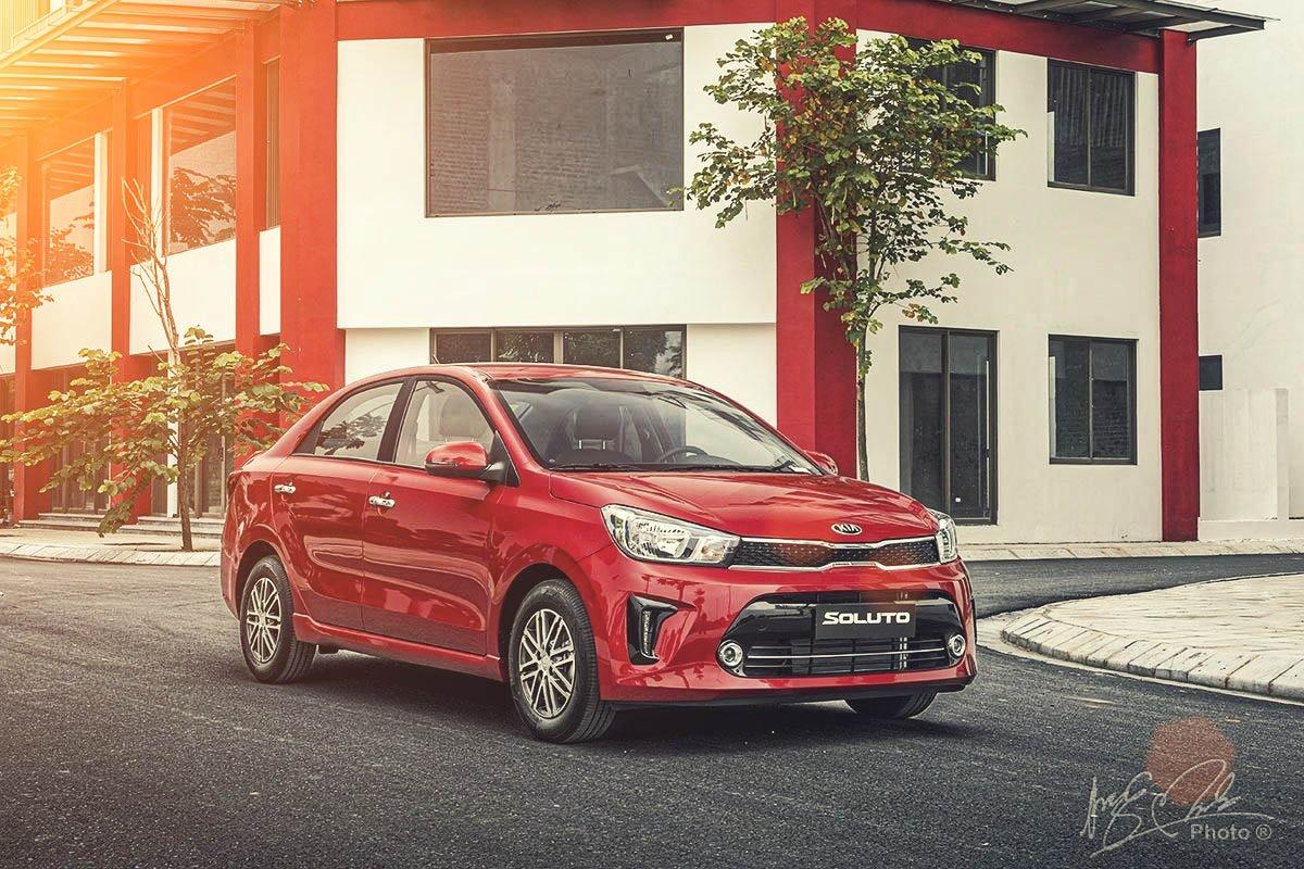 Đánh giá xe Kia Soluto AT Luxury 2020 1.