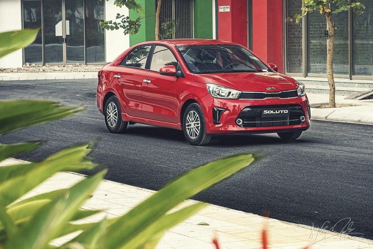 Đánh giá xe Kia Soluto AT Luxury 2020: Tổng thể thiết kế không thay đổi.