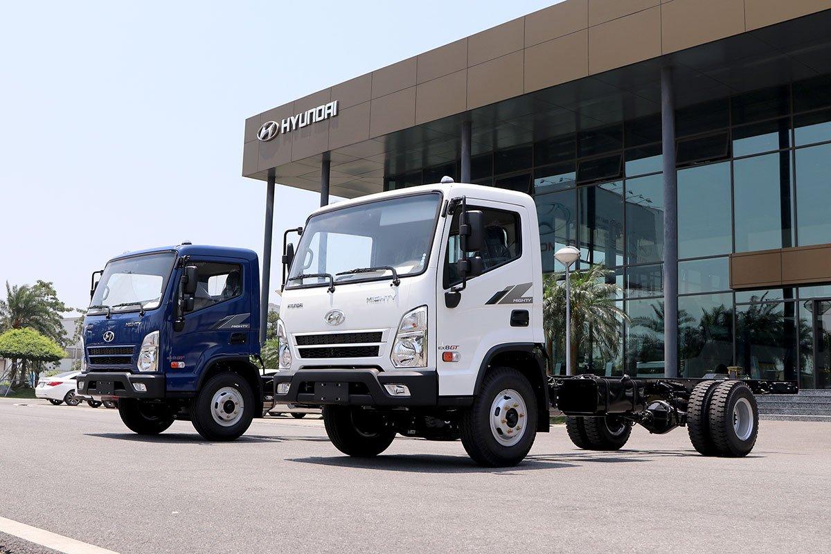 Hyundai Mighty EX8 GT ra mắt với 3 phiên bản.