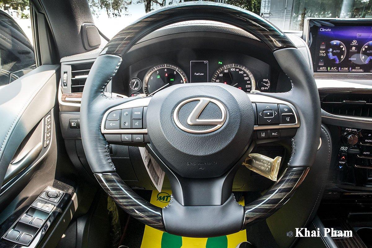 Ảnh vô-lăng xe Lexus LX570 Super Sport 2020