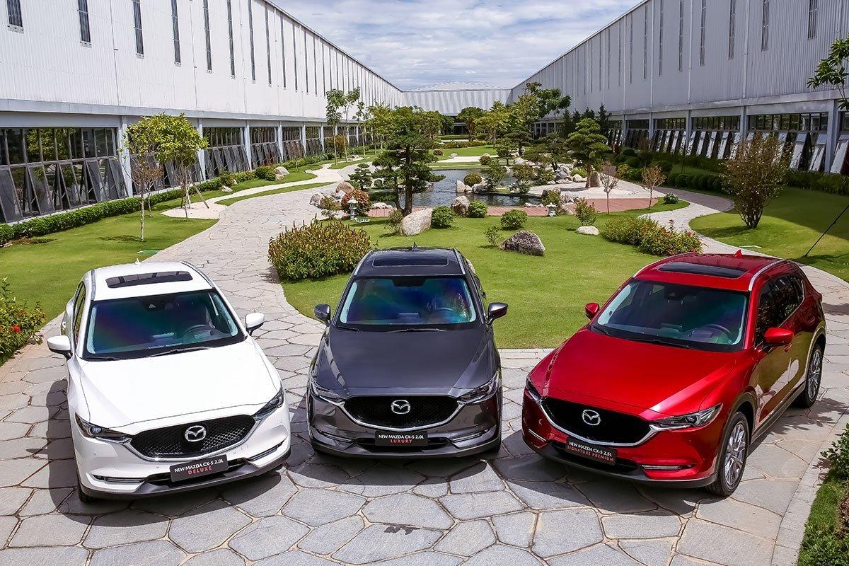 Mazda CX-5 2020 thế hệ 6.5 đang bán tại Việt Nam...