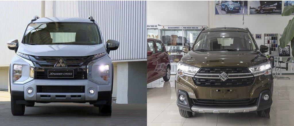 So sánh xe Mitsubishi Xpander Cross 2020 và Suzuki XL7 2020 Đại chiến MPV lai SUV tại Việt Nam a1