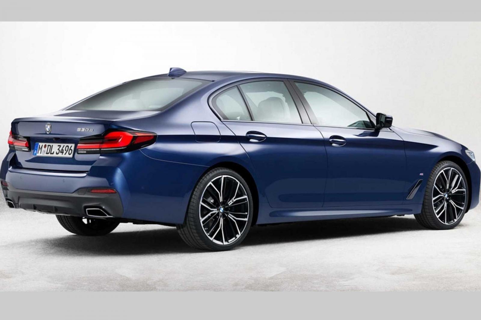 BMW 5-Series facelift tung teaser trước giờ G - Ảnh 2.
