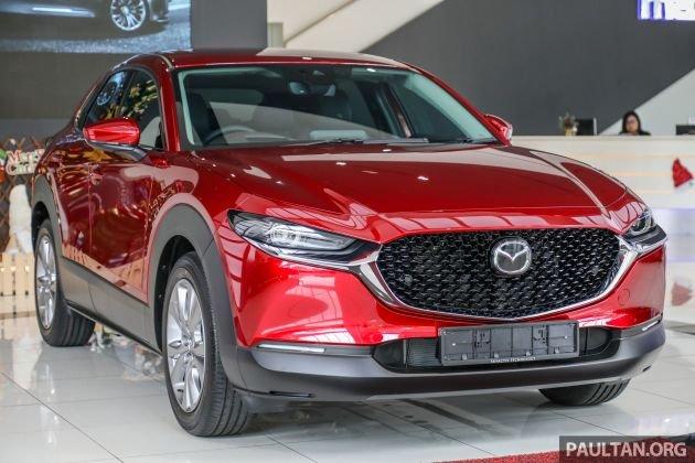 Mazda CX-30 2020 bản AWD có giá quy đổi 945 triệu đồng tại Malaysia...